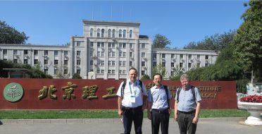 Fakulteto mokslininkų vizitas Pekino technologijos institute ir dalyvavimas VI pasauliniame tribologijos kongrese