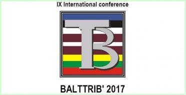 Tarptautinės mokslinės konferencijos BALTTRIB 2017 aidai